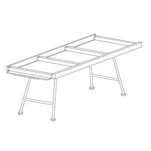 tavolino per nave / pieghevole
