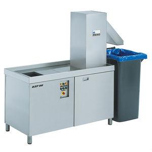 sistema di trattamento di rifiuti alimentari