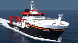nave per ricerca oceanografica