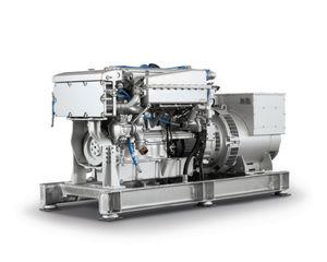 gruppo elettrogeno per yacht / ibrido / con alternatore