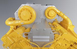 coibentazione rigida per motore