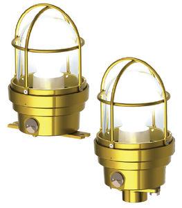 lampada da esterno / da interno / di emergenza / per nave