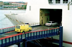 rampa esterna per navi Ro-Ro