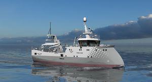 nave speciale peschereccio a strascico