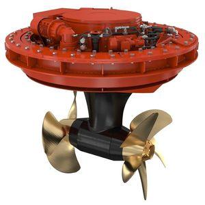 propulsore azimutale / per nave / elettrico / controrotante
