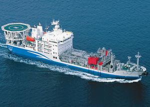 nave anti-inquinamento per recupero di idrocarburi