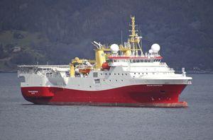 nave da ricerca sismica