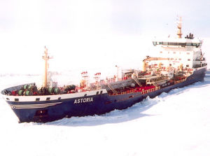 nave cargo chimichiera / ice-class