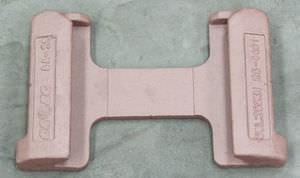 base dovetail per ancoraggio di container