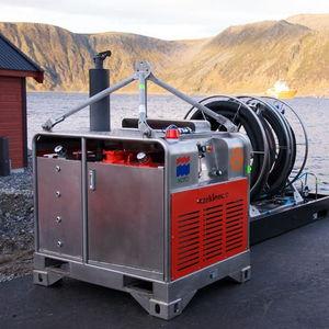 unità energetica idraulica per nave anti-inquinamento