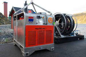 unità energetica idraulica per nave anti-inquinamento / per porti e terminali / per skimmer per idrocarburi