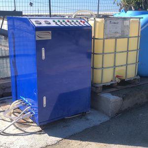 sistema di trattamento di acque reflue / di acqua dolce / dell'acqua di sentina / per nave