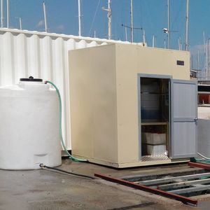 sistema di trattamento di acque reflue