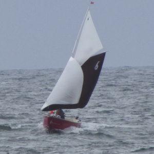 barca a vela mini