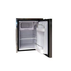 frigorifero per barca / da incasso / a compressore / in acciaio inox
