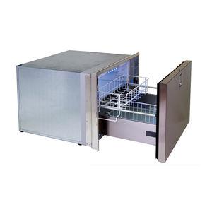 congelatore per barca / a incasso / in acciaio inox / a cassetti