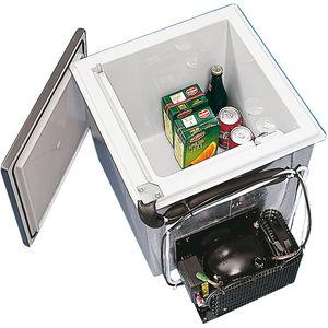 frigorifero per barca / da incasso / a compressore / a carico dall'alto