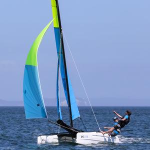 catamarano sportivo da turismo