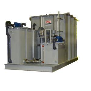 sistema di trattamento di acque reflue / per nave / biologica