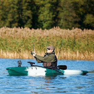 kayak a ponte / pieghevole / da pesca / 1 posto