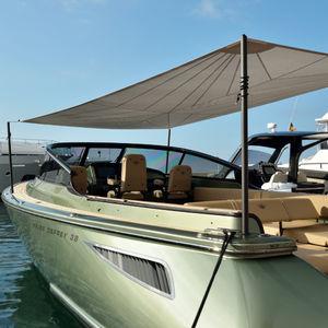 palo per tendalino per yacht