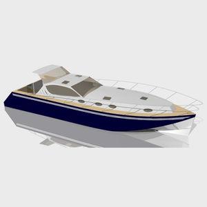 cabinato entrobordo / con scafo planante / hard-top / in alluminio