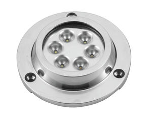 illuminazione subacquea per barca / LED / in acciaio inox