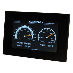 display per barca / per nave / multifunzione / touch screen
