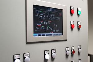 pannello di comando e controllo per nave / per yacht / per motore / per sistema di allarme