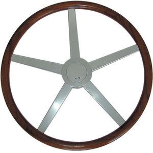 volante per barca a motore in teak