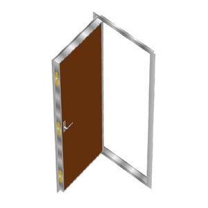 porta per nave / A60 / indoor / in acciaio inossidabile