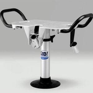 sedia da combattimento per barca / con braccioli / in alluminio