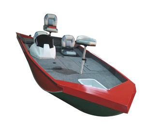 bass boat fuoribordo / da pesca sportiva / in alluminio / max. 4 persone