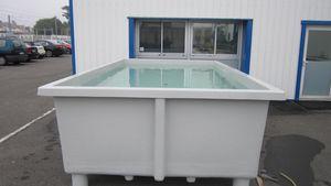 bacino di allevamento per algocoltura / per acquacoltura / per allevamento di crostacei / per molluschicoltura