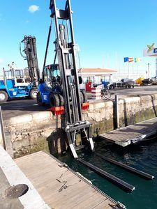 carrello elevatore per porto