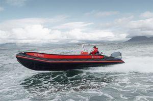 barca professionale barca da lavoro / fuoribordo / gommone semirigido