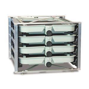 incubatoio ittico 4 vassoi / per acquacoltura / per salmoni / per trote