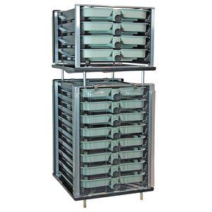 incubatoio ittico per acquacoltura / per salmoni / per trote / verticale