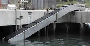 ascensore per pesci a tappeto / per acquacoltura