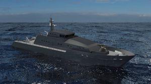nave speciale di sorveglianza off-shore