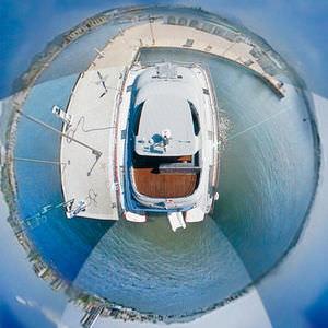 sistema di videocamere per yacht