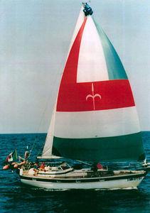 spinnaker simmetrico / per barca a vela da crociera