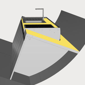 stabilizzatore per piano di lavoro / per barca / per yacht / per nave