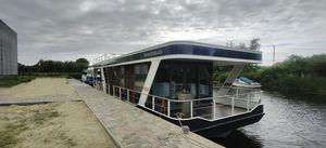 barca a motore house-boat multiscafo