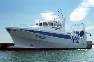nave da pesca peschereccio a strascico