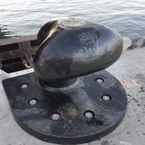 bitta a fungo per terminale portuario / per marina