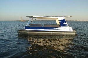 barca professionale taxi acqueo / entrobordo / pontoon boat