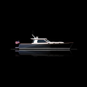 motor-yacht da crociera / tradizionale / hard-top / epossidico