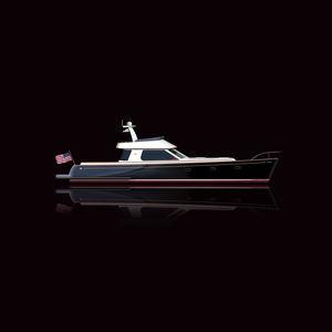 motor-yacht da crociera / tradizionale / con fly / hard-top