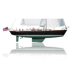 sailing-yacht da crociera / tradizionale / con poppa aperta / con 3 cabine